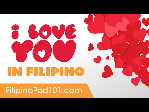 3 Ways to Say I Love You in Filipino