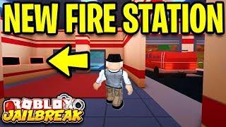 Jailbreak NEW FIRE STATION SNEAK PEEK! *NEW UPDATE!* | New Hospital!? | Roblox Jailbreak New Update
