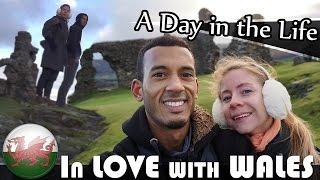 VISIT WALES - EXPLORING LLANGOLLEN & DINAS BRAN - UK DAILY VLOG (ADITL EP139)