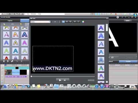 شرح برنامج ArcSoft ShowBiz للتسجيل من التلفزيون