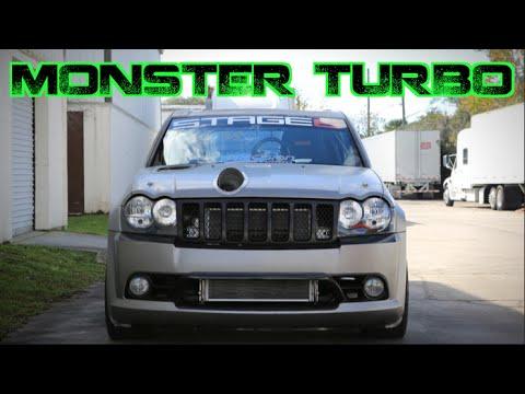 MONSTER TURBO 1300HP Jeep SRT8 - AWD Beast!