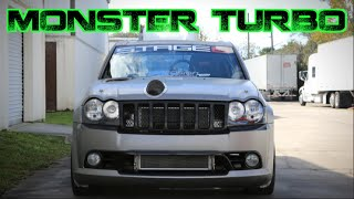 MONSTER TURBO 1300HP Jeep SRT8 - AWD Beast!