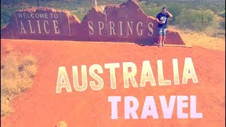 American traveling Australia... Alice Springs (middle of Australia)