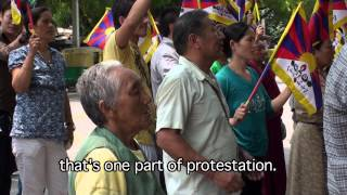Tibetan Nonviolence Vs. Chinese Oppression - Tsering Lhundup