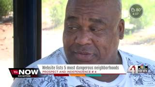 Report: KC neighborhood among most dangerous