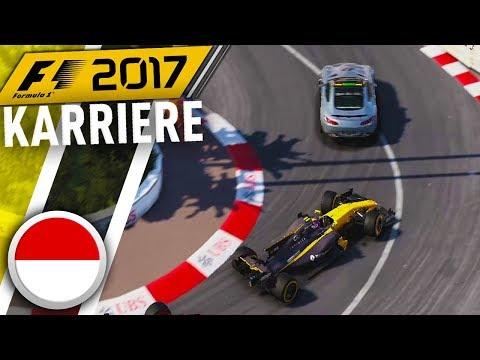 F1 2017 KARRIERE PART 7: SAFETY-CAR IN MONACO!! [Deutsch/German]