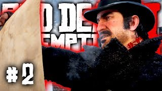 Red Dead Redemption 2 – Part 2 Gameplay | HUNTING & A GANG | Walkthrough RDR2 PS4 Pro