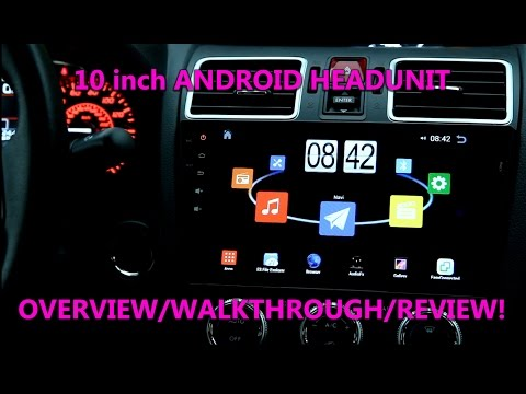 Ep 24: $200 Android 10 Inch Head unit Overview / REVIEW for Subaru WRX FORESTER STI! 4.4.4 rk3188