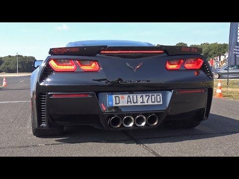 Chevrolet Corvette C7 Z06 'Black Diva' – BRUTAL ACCELERATIONS!