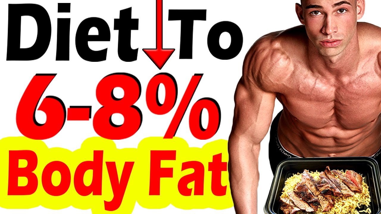 how to reduce body fat to 6 percent