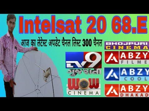 Intelsat 20 68.East Complete Channel List, News Channel List Complete Channel List,MB FREE DISH
