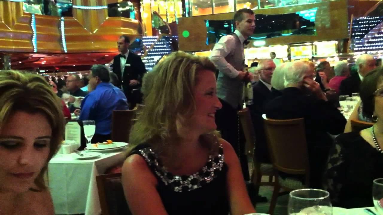 Carnival Magic Debut Cruise Elegant Night Youtube