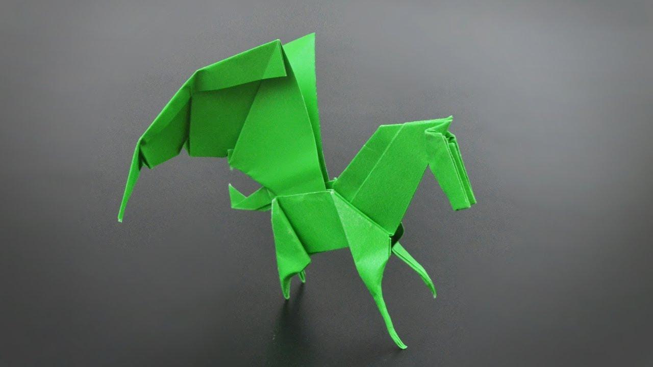 Origami Pegasus And Horse Jo Nakashima Instrustions In English