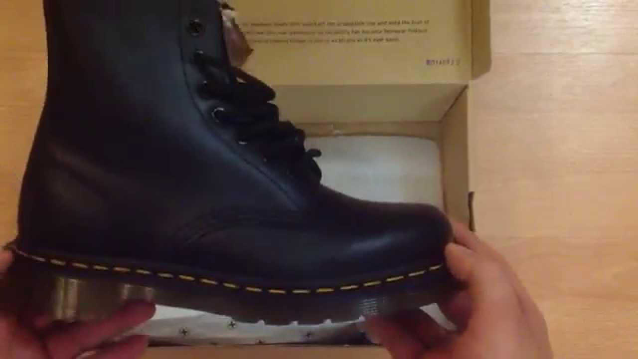 Ботинки Dr.Martens 1460. Видеообзор - YouTube f720e27c04b33