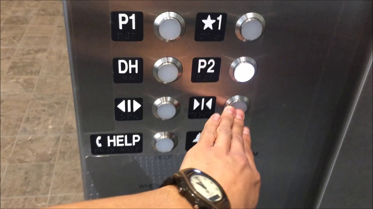 KONE Traction Parking Elevators (C3-C4) at Westfield Century City, Los  Angeles CA