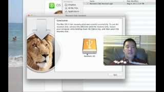 How to Make Mac OS X Recovery Disk