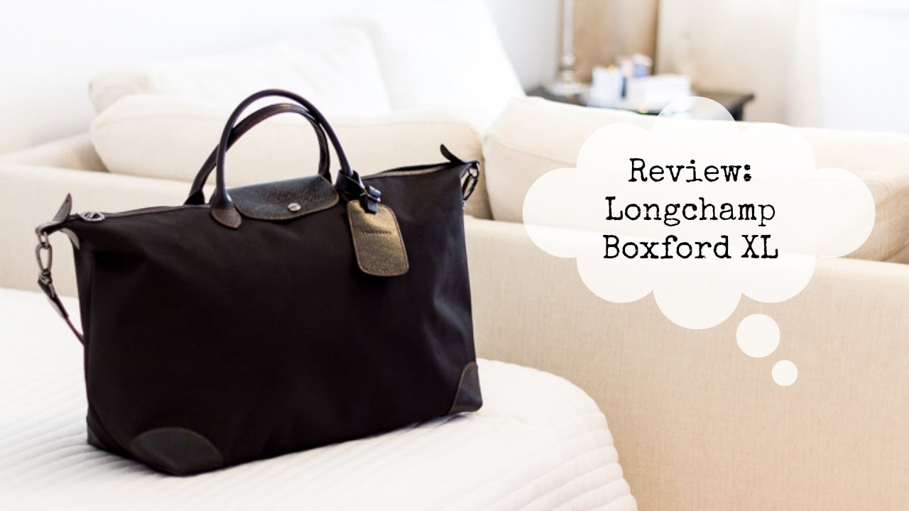 Longchamp Boxford Travel Bag XL Review - YouTube 671e2ec382dff