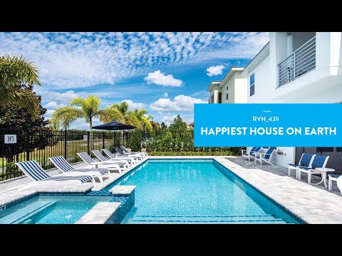 Happiest House on Earth | Luxury Orlando Vacation Home Tour