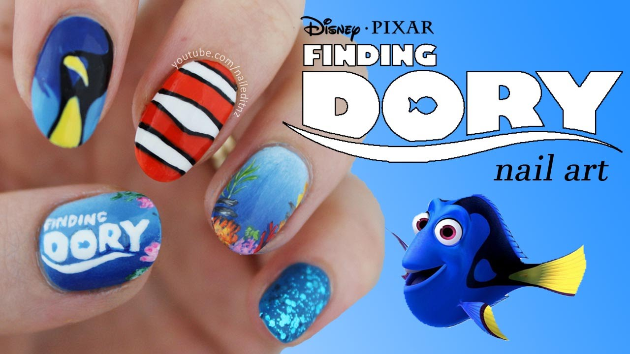 Disneys finding dory nails nailed it nz youtube prinsesfo Gallery