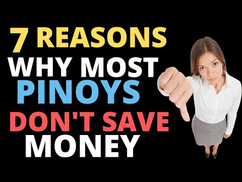 7 Reasons Why Most Pinoys Don't Save Money