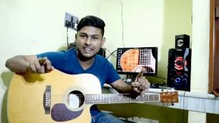 First Beginner Acoustic Guitar Lesson-How to play Guitar(Bengali)-Tutorial 1