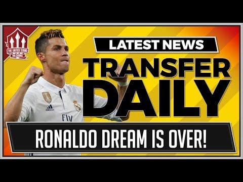 RONALDO To MAN UTD Hopes Dashed!  MUFC Transfer News