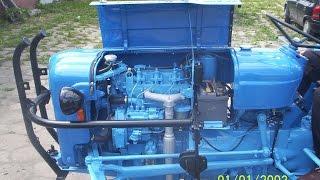 /FORDSON/ Ford Dexta 957 ED remont, odbudowa i malowanie