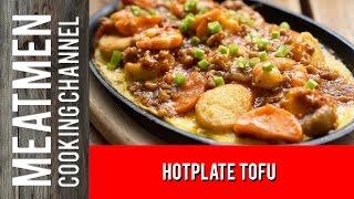 Hotplate Tofu - 铁板豆腐