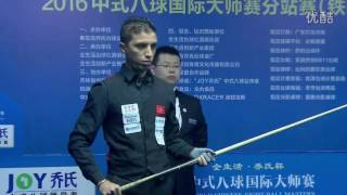 Yu Li VS Essaid Mohamed (MOROCCO) - World Chinese 8 Ball Masters Tour 2016-2017 Stage 3 Tieling