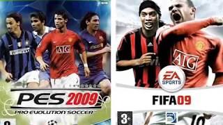 FIFA 09 VS PES 2009 PC