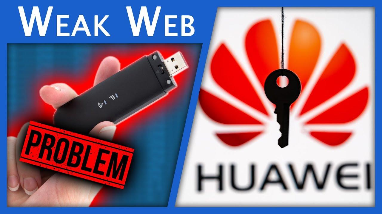 Embarrassing Huawei Vulnerabilities...
