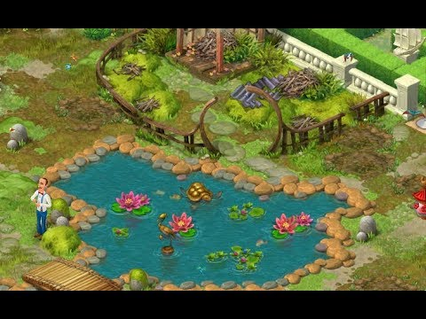 Gardenscapes New Acres Gameplay Story Playthrough Area 7 Oriental Area Day 1 And Day 2 Youtube