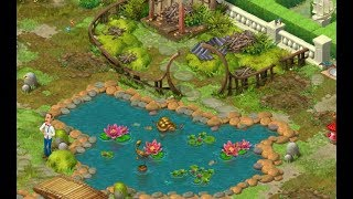 GARDENSCAPES NEW ACRES Gameplay Story Playthrough | Area 7 Oriental Area  Day 1 And Day 2