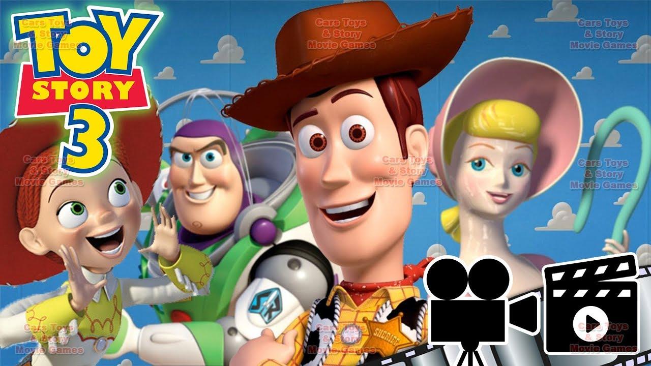 CELÝ FILM CZ DABING ČESKY PŘÍBĚH HRAČEK TOY STORY 3 GAME DISNEY PIXAR Cars Toys & Story Movie Ga