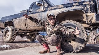 BIG PLANS for the LIFTED Truck!!! + Garage update