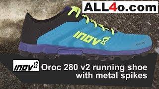 Blue Inov8 Oroc 280 V3 Mens Trail Running Shoes