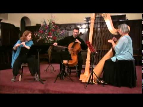 Claude Debussy, Clair De Lune, Pacific Arts Trio