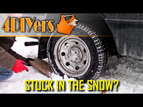DIY: How to Get Your Vehicle Unstuck in the Snow