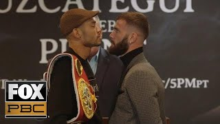 Jose Uzcategui vs Caleb Plant | PRESS CONFERENCE | PBC ON FOX