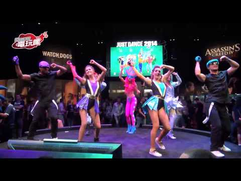 《舞力全開 2014 Just Dance 2014� E3 Ubisoft 攤位舞台活動-巴哈姆特 GNN