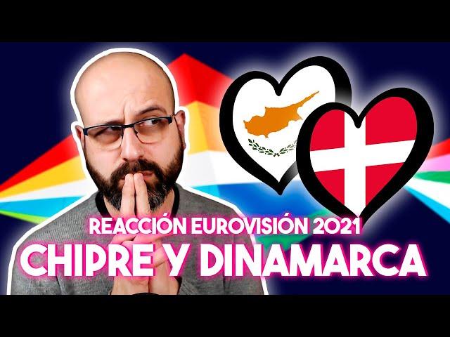 💜 REACCIÓN EUROVISIÓN 2021: CHIPRE Y DINAMARCA | La subred de Mario