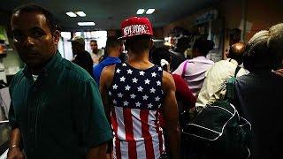 Куба  Мечты кубинцев о лучшей жизни разбились об отмену  политики мокрых и сухих ног