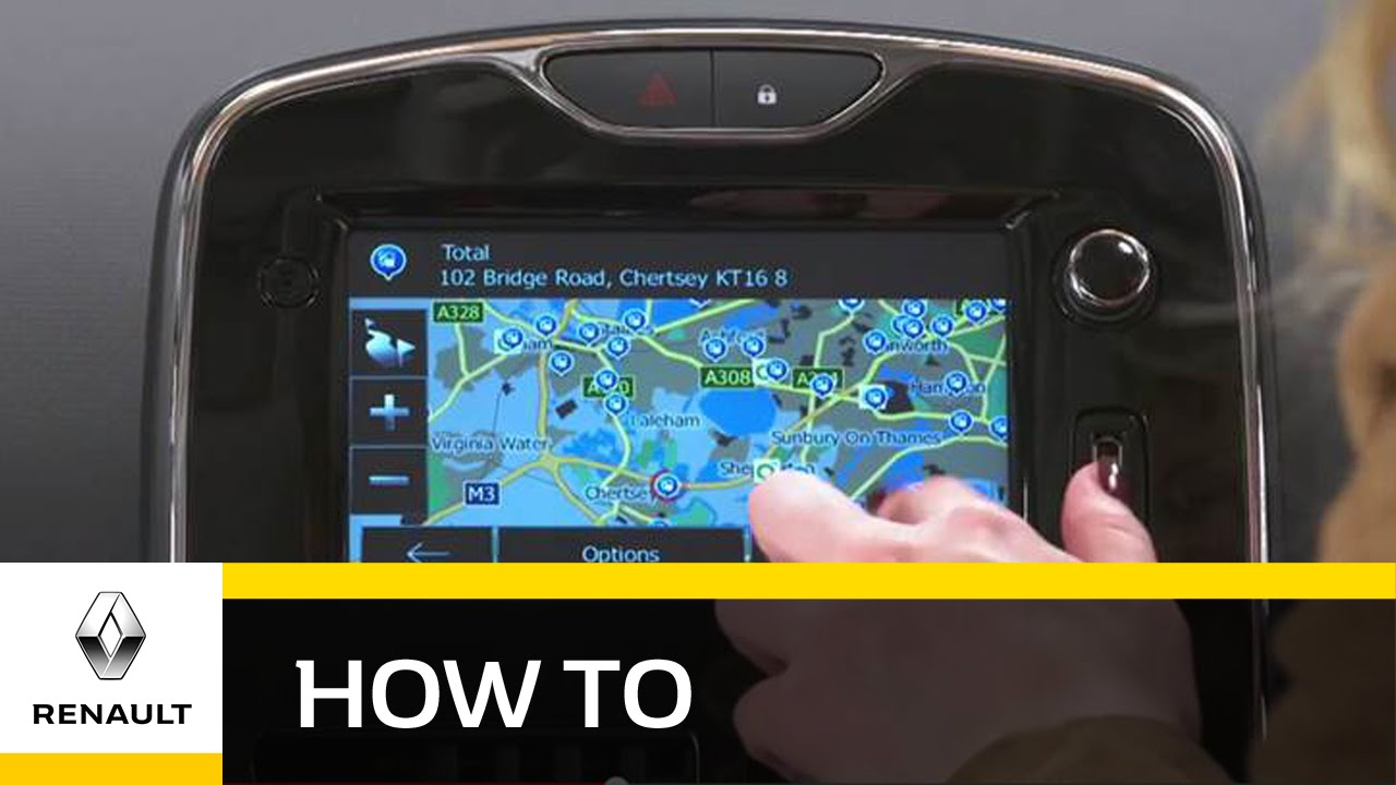 How To Use The Renault MediaNav System - Renault UK