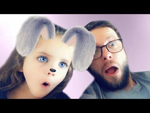 CHALLENGE SNAPCHAT Funny video for kids POPSY TOYS
