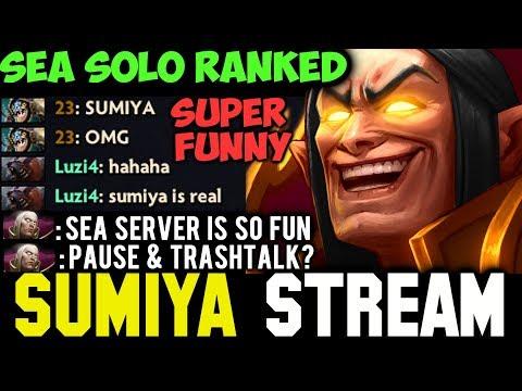 SUMIYA Invoker in SEA Server + Funny Chat | Sumiya Facecam Stream Moment #196