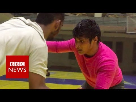 Child bride to wrestling star - BBC News