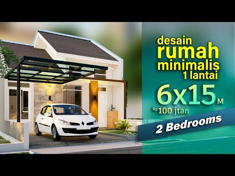 rumah-1-lantai-6x15-modern-minimalis-|-desain-sejuk-tidak-panas-|-2-kamar-tidur-&-dapur-nya-luas