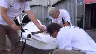 Electric Cri-Cri 4-Engine Airplane