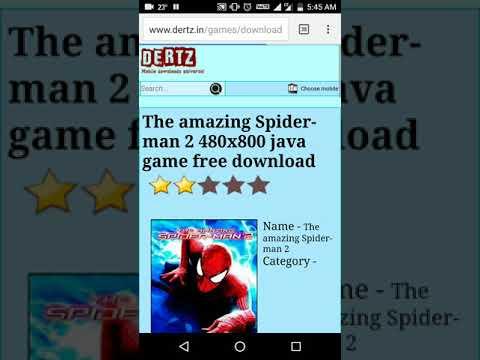 spider man 2 java jar game download