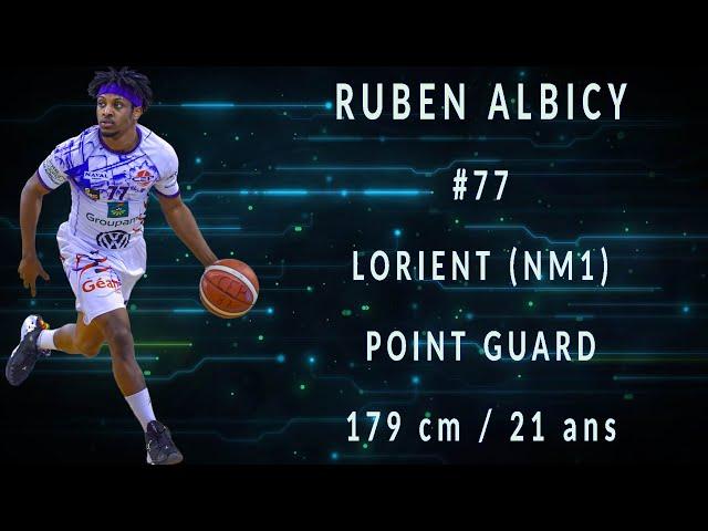 Highlights de la saison de Ruben Albicy avec Lorient